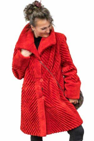 Reversible Sheared Beaver Jacket