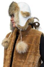 Lynx Fur & Leather Hat