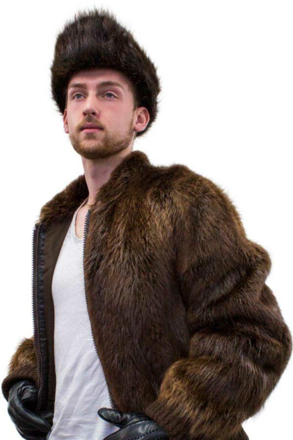 Beaver Fur Jockey Hat