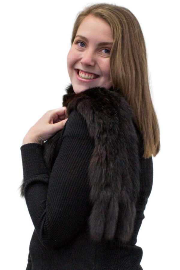 Sable Knit Scarf
