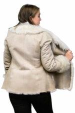 Shearling Jacket with Toscana Trim
