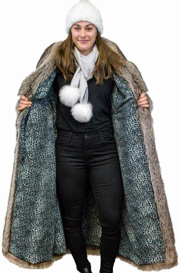 Full-Length Raccoon Coat
