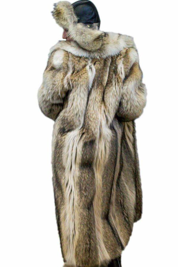 Coyote Fur Coat