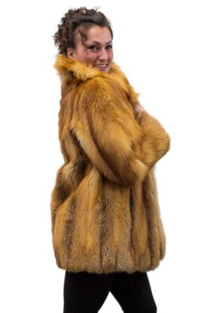 Vintage Canadian Red Fox Jacket