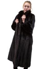 Vintage Dark Ranch Mink Coat