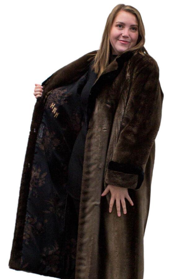 Vintage Phantom Sheared Beaver Coat